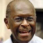 Republican presidential candidate businessman Herman Cain answers a question during a book signing Wednesday, Oct. 5, 2011, in St. Petersburg, Fla.