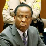 Conrad Murray listens to prosecutor David Walgren at his sentencing hearing in Los Angeles, Nov. 29, 2011