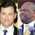 jimmy kimmel & herman cain