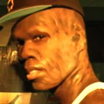 "50 Cent in the video for ""They Burned Me"""