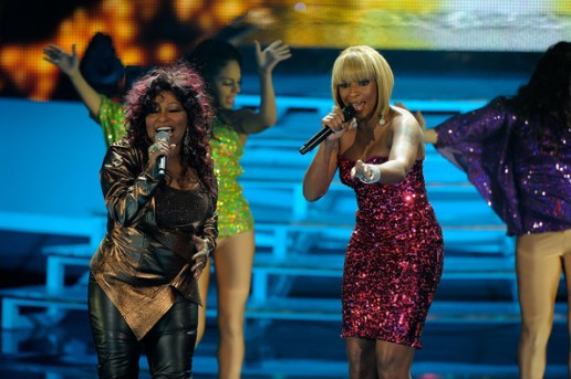 Chaka Khan and Mary J. Blige