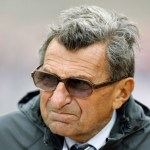 File photo of Joe Paterno in  Champaign, Illinois