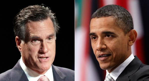 mitt romney &amp; barack obama