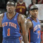 amare stoudemire & carmelo anthony