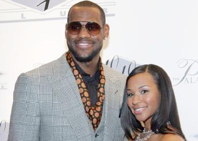 lebron james & savannah brinson