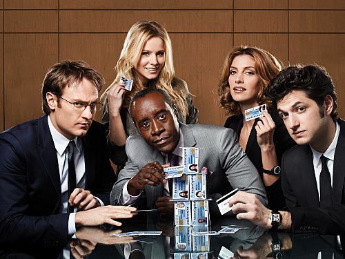 don cheadle and 'house of lies' cast