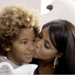 Toni Braxton and son Diezel