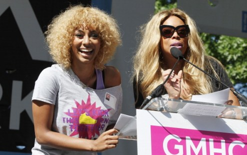 keri hilson & wendy williams
