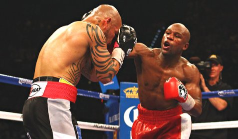 miguel cotto &amp; floyd mayweather jr 