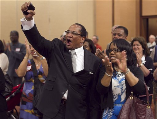 anti-gay-marriage rally at cogic church