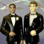 gay marriage cake ornament
