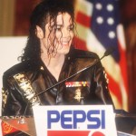Michael Jackson attends a Pepsi press conference February 3, 1992 in New York City. Entertainer Jackson accepted the largest individual sponsorship deal in history from Pepsi-Cola in 1983.