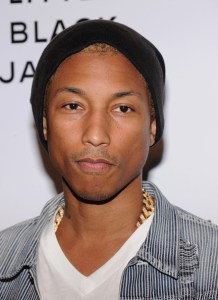 Pharrell Williams attends Chanel's:The Little Black Jacket Event at Swiss Institute on June 6, 2012 in New York City