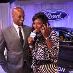 Boris Kodjoe and Toccara Jones have both been known for their easiness on the eyes, and with them both working the room as hosts of the Ford Hot Spot, it seems to make celebrities and guests want to linger a little longer than they otherwise would&#039;ve.
