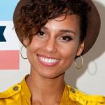 alicia keys (short hair)