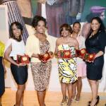 Angelique Perrin, honorees LaTraviette D. Smith, Sheryl Lee Ralph and Audrey J. Bernard, Vanessa Bush (accepting for Constance C.R. White), honoree Deborah Williams, Sheila Eldridge