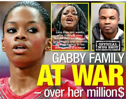 gabby douglas (national enquirer)