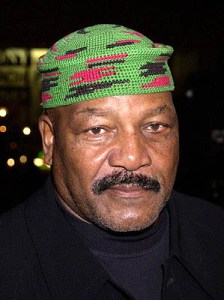 The legendary Jim Brown