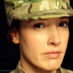 "Jennifer Beals as Maj. Stone in ""Lauren"""