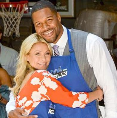 michael strahan &amp; kelly ripa