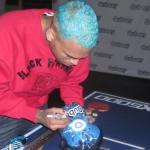 Follow the Chris Brown Channel on Qubeey and win a chance to attend the VIP launch party or autographed Qubeey gear!