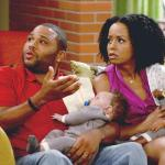 anthony anderson &amp; tempestt bledsoe (in &#039;guys with kids&#039;)