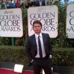 Oscar Generale at The Golden Globes