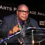 Honoree Quincy Jones speaks onstage during Montblanc Honors Quincy Jones at the Montblanc de la Culture Arts Patronage Award Ceremony held at Chateau Marmont on October 2, 2012 in Los Angeles