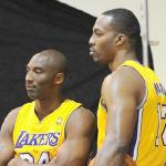 kobe bryant & dwight howard
