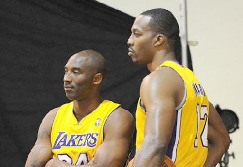 kobe bryant &amp; dwight howard