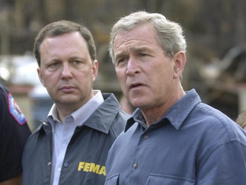 michael brown & geo bush