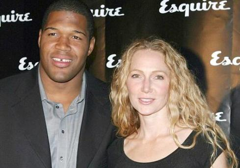 michael strahan &amp; jean muggli