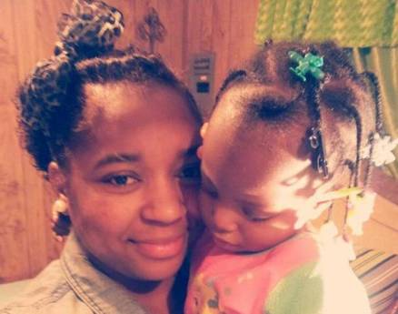 sharmeka moffitt & baby
