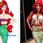 evelyn lozada as mermaid