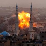 Israeli forces strike in Gaza City