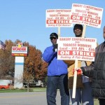hostess workers on strike