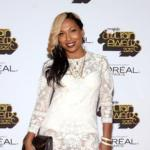 melanie fiona (2012 soul train red carpet)