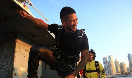Usher Skydiving in Dubai