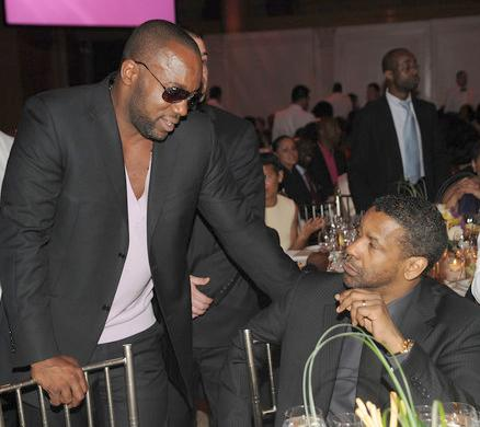 malik yoba & denzel washington