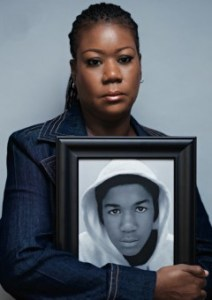 sybrina fulton &amp; photo of trayvon martin