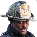 Eamonn Walker on set