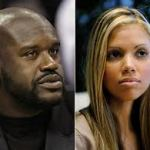 Shaq and Vanessa
