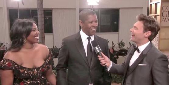denzel daughter olivia & ryan seacrest