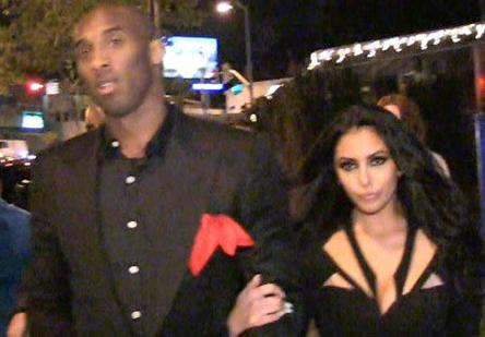 kobe & vanessa bryant (new years eve)
