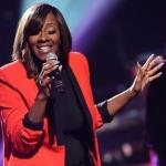 leandria johnson (red pant suit