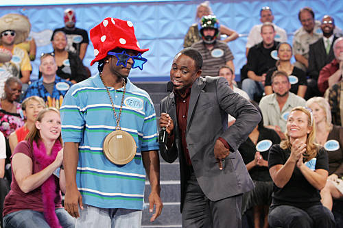 Wayne Brady (right) hosts the new one-hour daytime series LETS MAKE A DEAL, weekdays (check local listings) on the CBS Television Network.