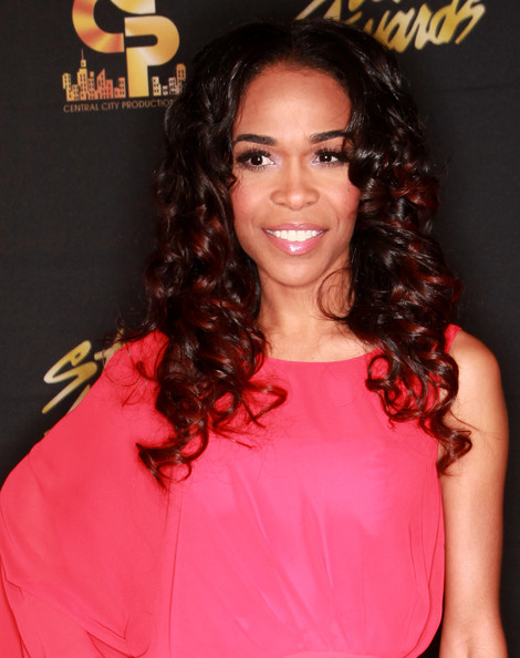 Michelle Williams arrives to the 28th Annual Stellar Awards at Grand Ole Opry House on January 19, 2013 in Nashville