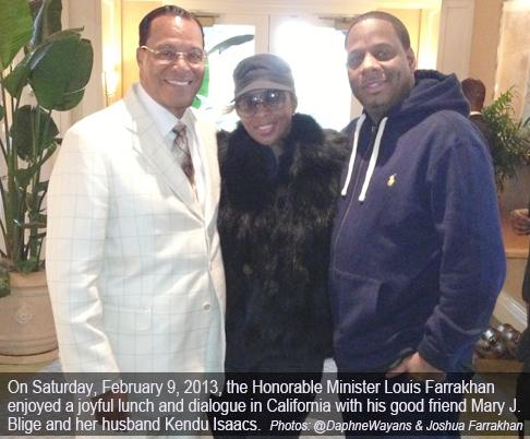 farrakhan &amp; mary j &amp; kendu