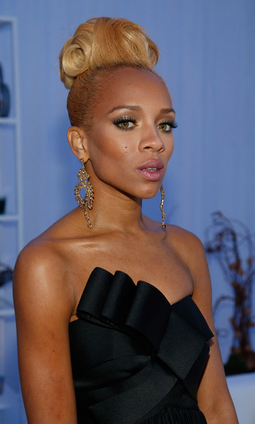 Rapper Lil Mama arrives at the Glade Suite at the 2012 Soul Train Awards at PH Live at Planet Hollywood Resort & Casino on November 8, 2012 in Las Vegas