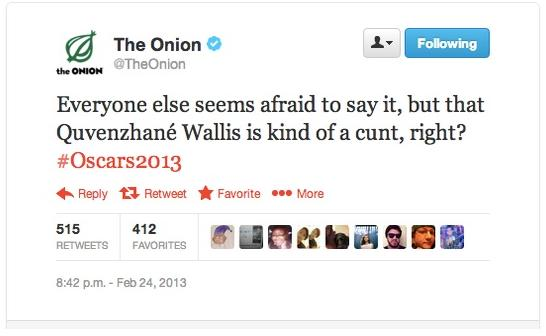 onion quvenzhane tweet